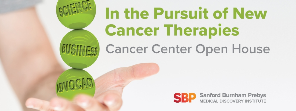 Cancer Center Open House graphic