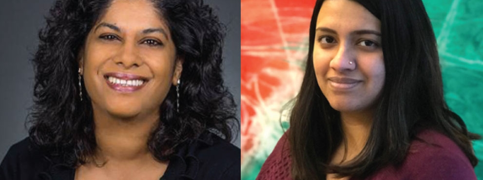 Ashani Weeraratna, Ph.D. and Shreya Raghavan, Ph.D.