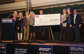 Padres Pedal the Cause-Check presentation-SBP